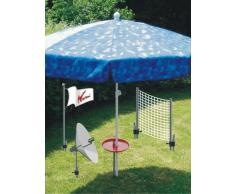 La playa paraguas soporte - sombrilla - Multi soporte de suelo - por - la innovación MADE in GERMANY - Holly Produkte STABIELO - Holly-azul y verde