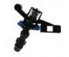 Homyl Sistema De Riego De Irrigación Rotatorio DAccesorio Móvil Computadora Informática Tablet - Negro