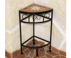 Taburete Merano mosaico 12013 macetas (42 cm taburete esquina estante mesa