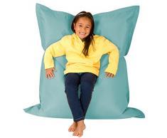 Bean Bag Bazaar Puf Grande para niños - Gigante Cojín del Piso del Niño - Puffs Asiento Infantiles - Interior y Exterior, Impermeable