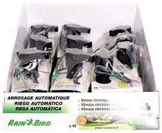 "Rainbird ZX12100D - Electroválvula, hembra, 3/4"", especial riego/goteo, color negro"