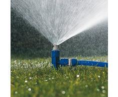 Tatay 20101 Top Line Aspersor Sectorial con pincho jardín abs Azul Superficie de riego 40 m, 5,8 x 3,5 x 20 cm