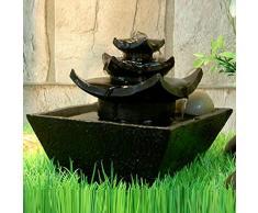 Fuente de agua interior Feng Shui Temple 15,5 cm