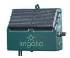 Irrigatia SOL-C12 - Sistema de riego automático por energía solar sensible al tiempo