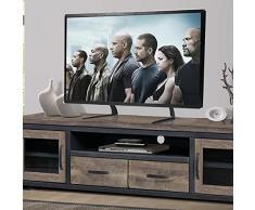 RFIVER Soporte TV Universal de Mesa para Television LCD LED OLED QLED de 27 a 65 Pulgadas UT3001X