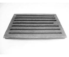 Parrilla de Carbón parrilla cenizas Chimenea somier con 24 x 19 cm