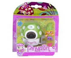 Pinypon - Figura Enanito con Gorro Verde (Famosa 700012733A)