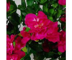 Leaf Premium - Maceta de Flores Artificiales, 100 cm, Color Rosa