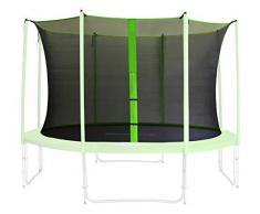 Red de seguridad interior verde para trampolín de jardín 1,85m -4,60m - diferentes tamaños - SN-IN/1955 - Size 1,85 m 3L