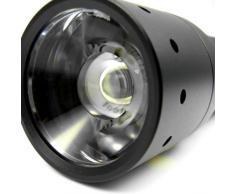 Led Lenser M7 - Linterna LED (193 g, 137 x 37 mm, con 4 pilas, 11 h, AAA), color gris/negro