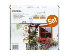 Gardena 1407-20 Sistema de riego City Gardening, para un máximo de 6 m de jardineras, [Colores Surtido]