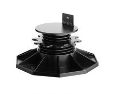 "Eurotec ""Eco M"" Pedestal ajustable (de 3,5 hasta 6,5 cm) para suelo de terraza, Paquete de 20"