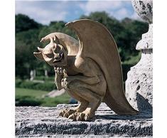 Design Toscano Blagdon Legend of the Cambridge Hopping - Figura decorativa, tamaño grande, diseño de gárgola