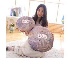 Pillow-MAIKA HOME Cojín de Coche de Adoquín Moderno Simple/Cojín de Piedra de Simulación/Cojín del sofá/Decoración casera Creativa (Estilo: A; Tamaño: 45 cm)