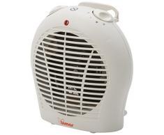 Bimar S337A.EU calentador de ambiente - Calefactor (22,5 cm, 13 cm, 24,5 cm) Color blanco