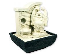 Buda - Fuente con LED, habitaciones,, humidificación de habitación de Buda, Feng Shui Chakra, Happy Buda, Ender Buda sonriente