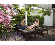 Set enfriador de aire city gardening Outdoor de GARDENA: nebulizador para enfriar el aire en el balcón/terraza cuando hace calor, con conexión para grifo, bajo consumo de agua (13135-20)