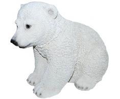 Vivid Arts XRL-PLBC-A - Escultura de animal para jardín
