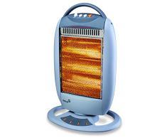 Voltman DIO080804 - Calefactor de infrarrojos, 400 - 1200 W, 32 x 56,2 x 12,5 cm, color azul