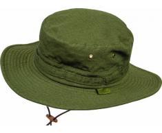 Highlander rip stop arbusto sombrero -, pequeño verde oliva