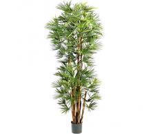 Planta artificial Chamaerops - arbusto de la palmera, altura 150cm - 103 hojas