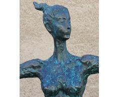 Grandes Bailarines Escultura - XXL jardín - Dancing Queen - Firmado Milo - Bailarina - arte moderno - Moderna Esculturas comprar