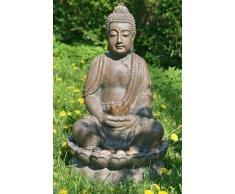 Fuente de Buda 84 cm de alto Decoración de Jardín para exterior