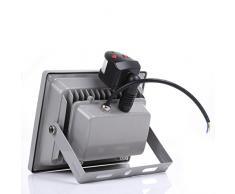 Contever® Foco Proyector LED 50W de Luz Blanca cálido Proyector de exterior Con Detector de Movimiento Proyectores de Ahorrar Nnergía de Gran resistencia IP65 AC85 - 265V Protección del Agua