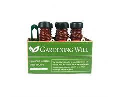 Gardeningwill - Sistema de riego automático para invernadero (6 unidades)