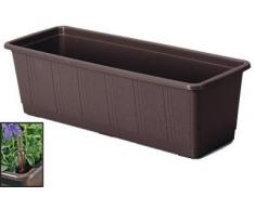 Lippert 839 100 08 Aqua Green - Jardinera con sistema de riego automático (6,4 litros), color marrón