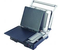 ECG KG 300 deluxe - Parrilla eléctrica, 1650-2000 W, 3 posiciones de funcionamiento