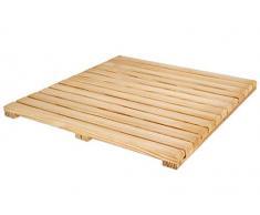 Loseta rígida en madera de Pino Melix tratada con aceite vegetal protector, lamas lijadas y cepilladas - Suelo exterior (Pack de 1 unidad)