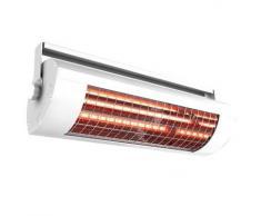 SOLAMAGIC 1400W ECO+ 9100000 - Calefactor de infrarrojos (sin interruptor), color blanco