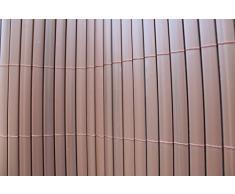 TOP MULTI - Esterilla de PVC para Protección Visual/de Viento Makassar 0,8 m x 4 m