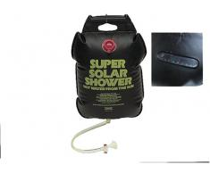 Happy People Super Solar Dusche - Ducha, color negro, talla 20 litros
