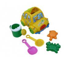 Juguetes de la arena Conjunto de arena juguetes de la caja de arena coche para cavar playa accesiories verano B47