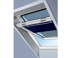 Original Velux protección contra el calor-juego de la noche opaco + toldo de DOP 104 1100/colour azul oscuro para GGL GPL GHL GTL 104 con rieles de aluminio // DOP 104 1100S