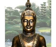 Vamudo - Escultura de Buda con cuenco (tamaño grande)