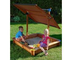 Arenero infantil con tejado regulable Mickey II