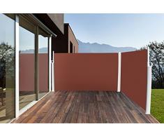 Toldo Lateral (doble visión - Toldo Lateral Estor Protector Solar 160 x 600 cm