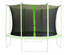 Red de segurida verde para trampolín de jardín 1,85m -4,60m - diferentes tamaños - SN-IN/1955 - Size 4,60 m 5L