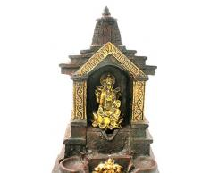 Shri Venilals Hindu Goddess Laxmi MA - Fuente de Cascada para Interior y hogar