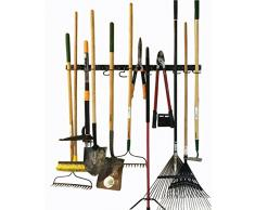 Sistema de almacenamiento ajustable 48 Inch, soportes de pared para herramientas, organizador de soporte de pared para herramientas, garaje, herramienta de jardín organizador, almacenamiento de garaje
