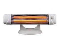MT Calefactor infrarrojos baño con pie. potencia: 600/1.200 w. interruptor de seguridad. cabezal ajustable