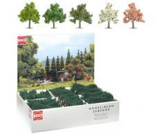 Busch 6331 - Paquetes a granel: 64 árboles frutales y flores HO