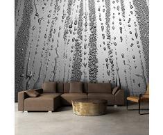 Fotomural 350x245 cm ! 3 tres colores a elegir - Papel tejido-no tejido. Fotomurales - Papel pintado 350x245 cm - pared gotas de agua f-A-0276-a-b