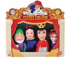 teatro 4 marionetas blancanieves
