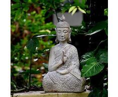 Estatuas para Jardín Adornos Estatua De Buda Sakyamuni Zen Jardín Esculturas Jardinería Big:29 * 19 * 53CM