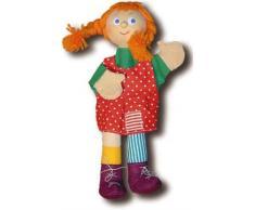 Trullala Marioneta de mano, de dedos, para teatro de marionetas, motivo: varios tamaños a elegir - 40cm, tela