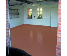 7 kg Cobre marrón marrón ral8004 2 K revestimiento de balcón revestimiento de suelo para exterior, color de balcón, terraza color